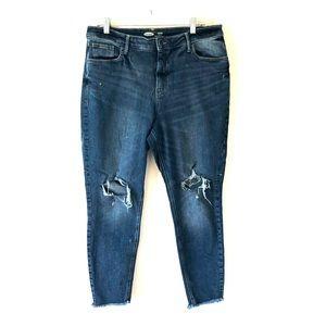Old Navy women's rock star jeans